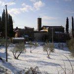 Montegiovi avec la neige