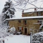 das Haus unter dem Schnee
