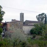 The village seen from the olive trees