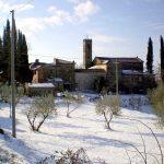 The village under the snow