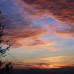 Sunset in Montegiovi